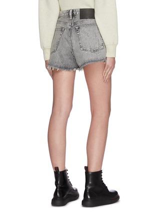 Back View - Click To Enlarge - RAG & BONE/JEAN - 'Maya' distressed denim shorts