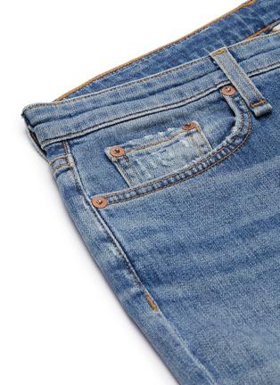 - RAG & BONE/JEAN - 'Dre' distressed knee slim boyfriend jeans