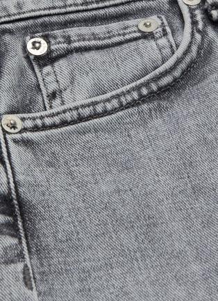 - RAG & BONE/JEAN - Nina grey wash ankle cigarette jeans
