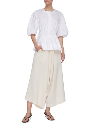 Figure View - Click To Enlarge - PETAR PETROV - Cropped harem pants