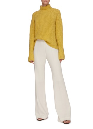 Figure View - Click To Enlarge - PETAR PETROV - Flared tailored pants