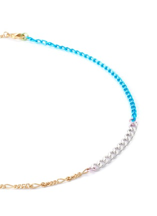 Detail View - Click To Enlarge - GAVIRIA - Disco 18k gold plated brass chain necklace