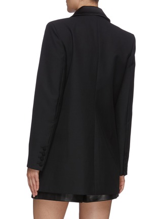 Back View - Click To Enlarge - SELF-PORTRAIT - Peak lapel double breast blazer