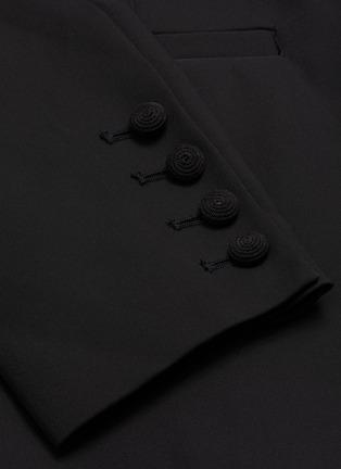 - SELF-PORTRAIT - Peak lapel tailored crepe playsuit