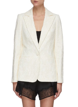 Main View - Click To Enlarge - SELF-PORTRAIT - Fine corded lace blazer