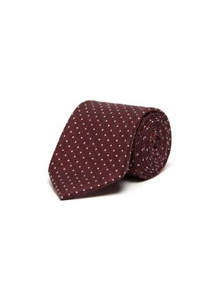 Main View - Click To Enlarge - STEFANOBIGI MILANO - Polka dot cashmere tie