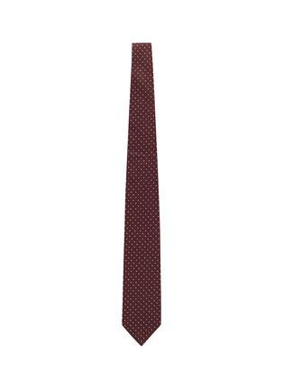 Figure View - Click To Enlarge - STEFANOBIGI MILANO - Polka dot cashmere tie