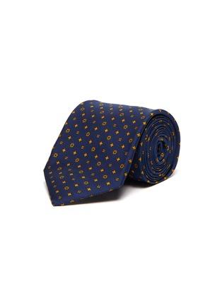 Main View - Click To Enlarge - STEFANOBIGI MILANO - Mixed print tie