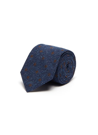 Main View - Click To Enlarge - STEFANOBIGI MILANO - Polka dot print silk tie