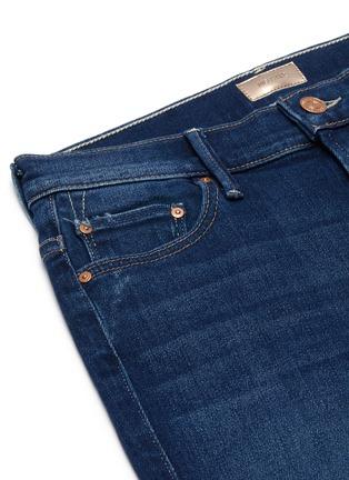 - MOTHER - 'The Insider' frayed hem crop jeans