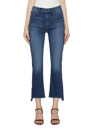 Main View - Click To Enlarge - MOTHER - 'The Insider' bootcut crop jeans