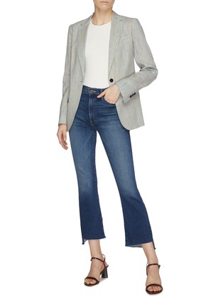 Figure View - Click To Enlarge - MOTHER - 'The Insider' bootcut crop jeans