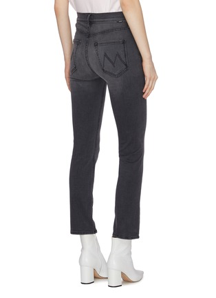 Back View - Click To Enlarge - MOTHER - 'The Dazzler' yoke front seam skinny jeans