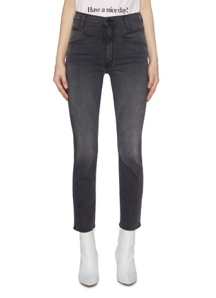 Main View - Click To Enlarge - MOTHER - 'The Dazzler' yoke front seam skinny jeans