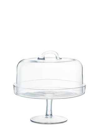 Main View - Click To Enlarge - Lsa - Serve cake stand and dome set