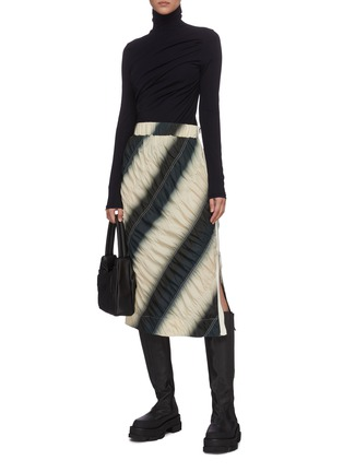 Figure View - Click To Enlarge - 3.1 PHILLIP LIM - Dip dye parachute skirt