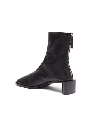 - ACNE STUDIOS - Square toe leather boots