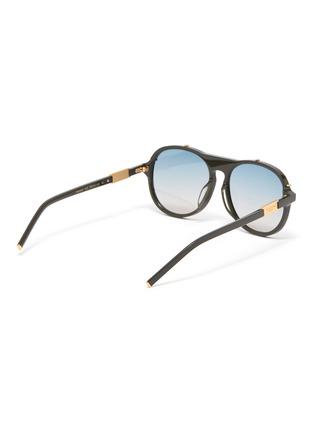 Figure View - Click To Enlarge - FOR ART'S SAKE - General' acetate aviator frame sunglasses