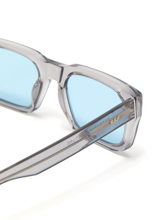 Detail View - Click To Enlarge - SUPER - Augusto' contrast acetate D frame sunglasses