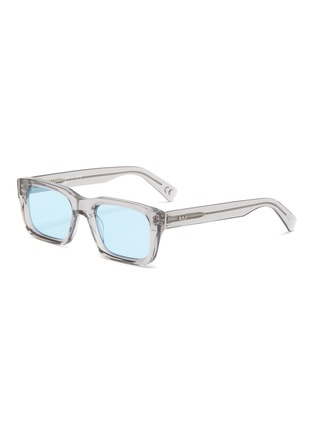Main View - Click To Enlarge - SUPER - Augusto' contrast acetate D frame sunglasses