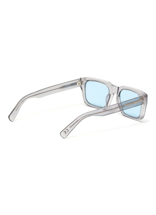 Figure View - Click To Enlarge - SUPER - Augusto' contrast acetate D frame sunglasses