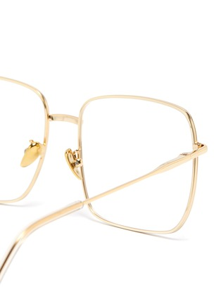 Detail View - Click To Enlarge - SUPER - 'Numero 78' oro square metal frame optical glasses