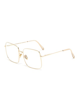 Main View - Click To Enlarge - SUPER - 'Numero 78' oro square metal frame optical glasses