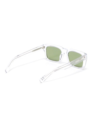 Figure View - Click To Enlarge - SUPER - 'Augusto' contrast acetate D frame sunglasses