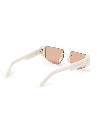 Figure View - Click To Enlarge - SUPER - 'Imun' frameless acetate temple sunglasses