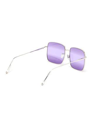 Figure View - Click To Enlarge - SUPER - 'Medea' metal ombre square frame sunglasses