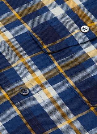 - BARENA - 'Teti Saltaro' plaid shirt