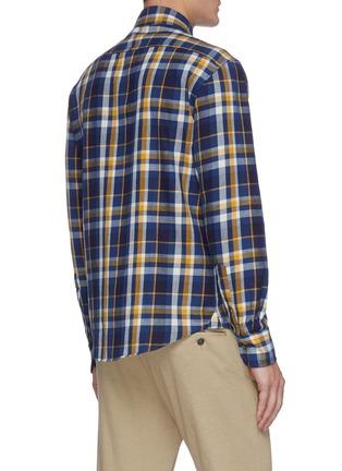 Back View - Click To Enlarge - BARENA - 'Teti Saltaro' plaid shirt
