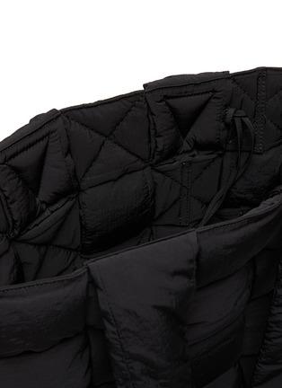 Detail View - Click To Enlarge - BOTTEGA VENETA - Padded nylon tote bag