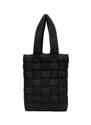 Main View - Click To Enlarge - BOTTEGA VENETA - Padded nylon tote bag