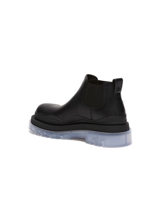 - BOTTEGA VENETA - Clear sole low Chelsea boots