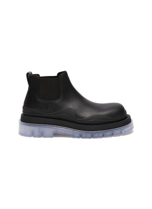 Main View - Click To Enlarge - BOTTEGA VENETA - Clear sole low Chelsea boots