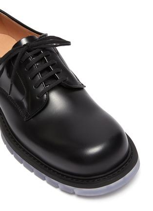 Detail View - Click To Enlarge - BOTTEGA VENETA - Clear sole derby shoes