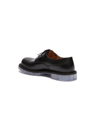 - BOTTEGA VENETA - Clear sole derby shoes