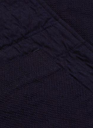 - FDMTL - Patch pocket cotton haori cardigan