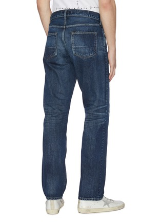 Back View - Click To Enlarge - FDMTL - 'CS70' ripped and repaired boro patch jeans