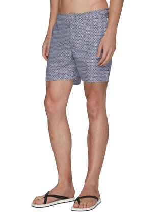 Figure View - Click To Enlarge - ORLEBAR BROWN - Bulldog' geometric print swim trunks