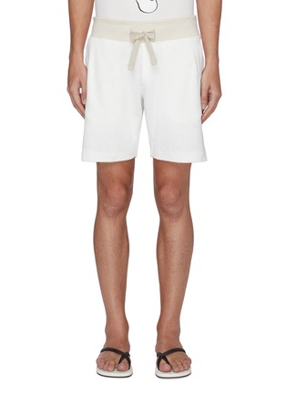 Main View - Click To Enlarge - ORLEBAR BROWN - Afador beach towelling cotton sweatshorts