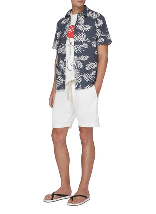 Figure View - Click To Enlarge - ORLEBAR BROWN - Afador beach towelling cotton sweatshorts