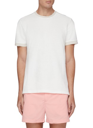 Main View - Click To Enlarge - ORLEBAR BROWN - Sammy beach towelling cotton T-shirt