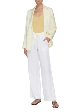 Figure View - Click To Enlarge - VINCE - Tie front pants