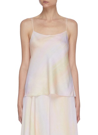 Main View - Click To Enlarge - VINCE - Rainbow wash camisole top