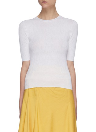 Main View - Click To Enlarge - VINCE - Broomstick pleat sweater