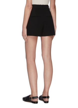 Back View - Click To Enlarge - VINCE - High waist pleated shorts
