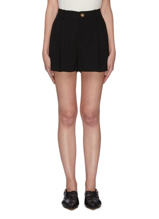 Main View - Click To Enlarge - VINCE - High waist pleated shorts