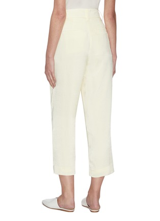 Back View - Click To Enlarge - VINCE - Tapered culottes